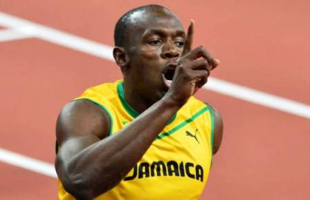 O jamaicano Usain Bolt