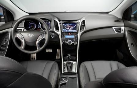 Hyunday i30_interior